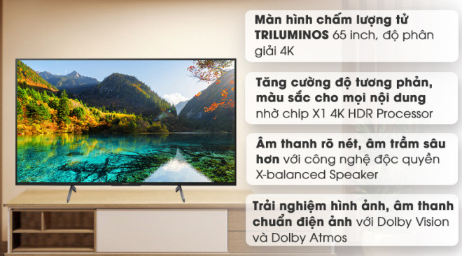 Android Tivi Sony 4K 43 inch KD-43X8050H Mới 2020